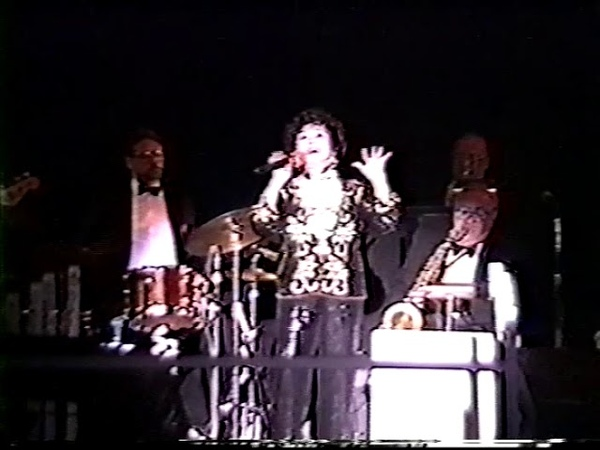 Connie Haines--Rare 1994 Las Vegas Live Performance