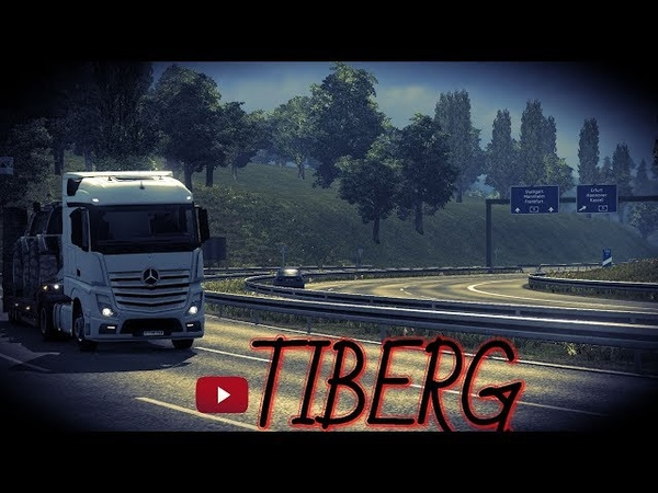 Euro Truck Simualator 2 | Франция - Скандинавия \ Тяжкий путь