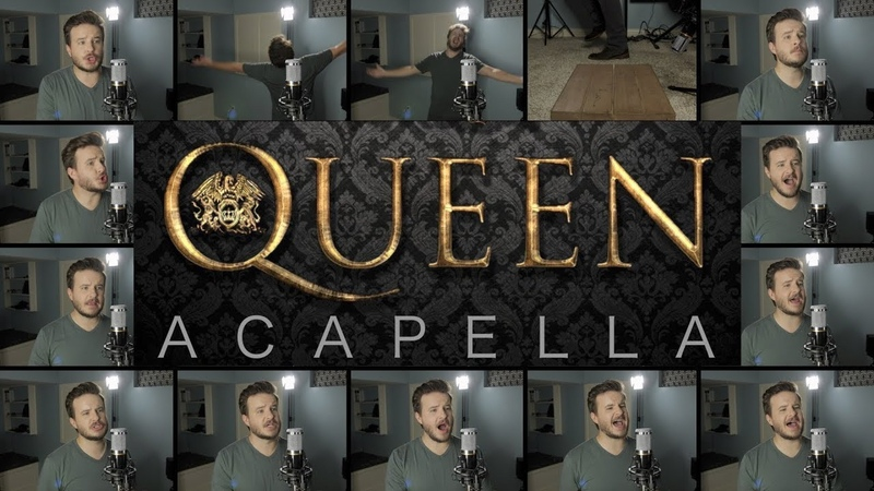 Queen ACAPELLA Medley Bohemian Rhapsody We Will Rock You Don't Stop Me Now and MORE