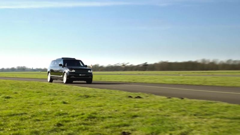 KLASSEN Armoured Range Rover Luxury Meets Security by KLASSEN®