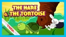 The Hare and The Tortoise Story | Bedtime Story by Kids Hut | English Stories For Kids