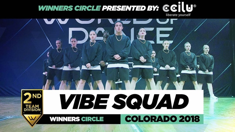 Vibe Squad | 2nd Place Team Division | Winners Circle | World of Dance Colorado 2018 | WODCO18 | Danceproject.info