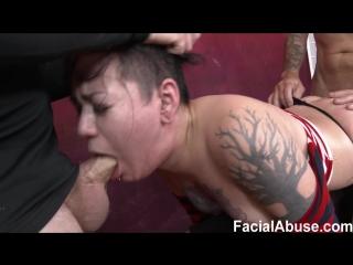 [FaceFucking/FacialAbuse] Amelia Dire (Another Shoot, Another Pound) [Slapping, Anal, Facefucking, Gagging, Deepthroat, Facial]