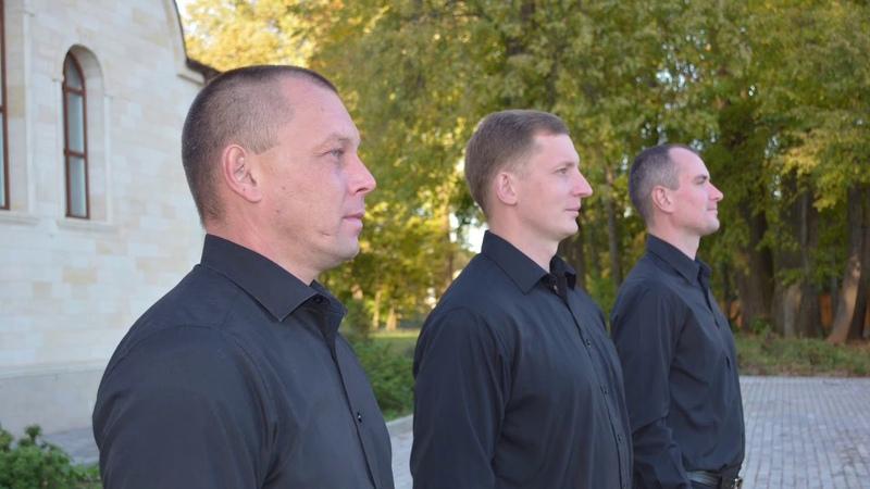 Вокальное трио СПАС Хвалите Имя Господне Сербское гарм М Котогарова рук М Литвиненко
