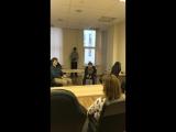 Сергей отвечает на вопросы в г.Санкт-Петербург