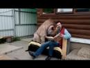 Правда что у вас в России медведи прямо по дорогам ходят Брехня Нет у нас никаких дорог…