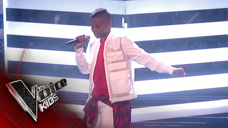 Donel Mangena Performs 'Bang Like A Drum' The Final | The Voice Kids UK 2018
