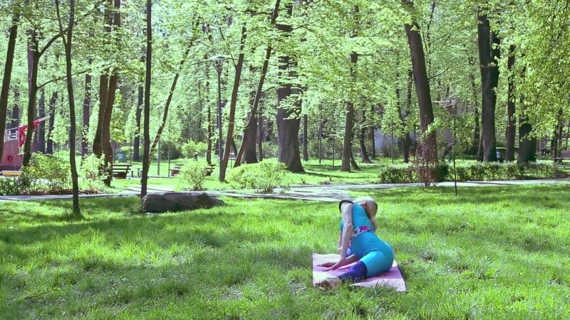Поперечный шпагат! 5 простых упражнений растяжка для начинающих!