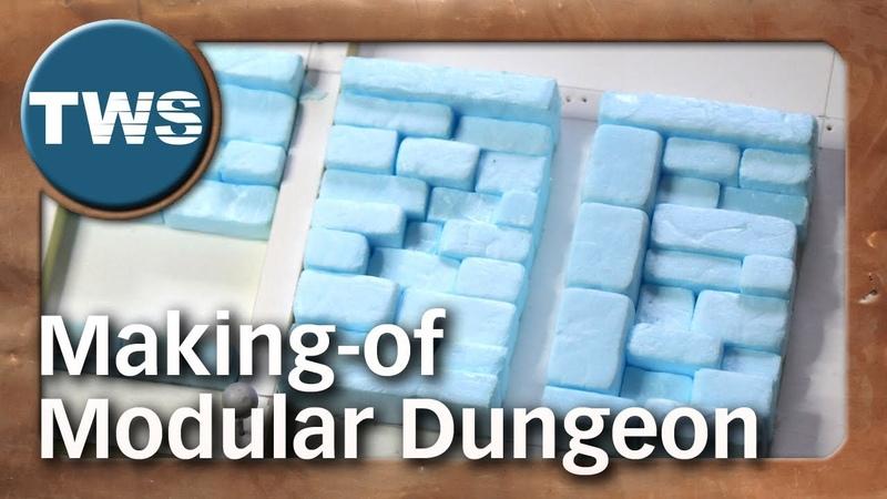 Making-of Modular Dungeon (Kickstarter project powered by TWS)
