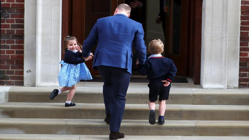 The royal baby's name, nanny and his chance of being king