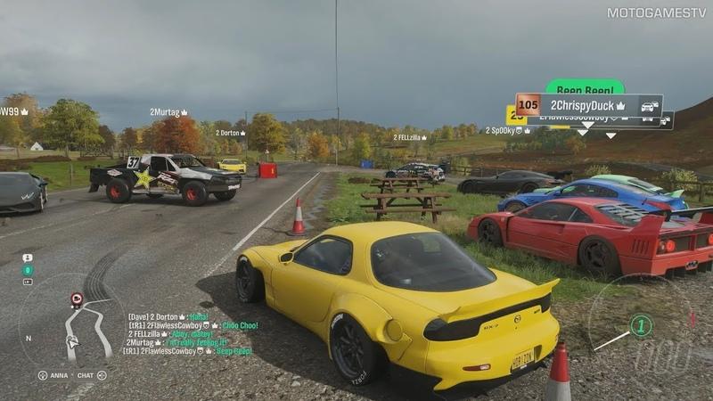 Forza Horizon 4 - Shared World Gameplay, Forzathon Live Preview (Autumn Season)