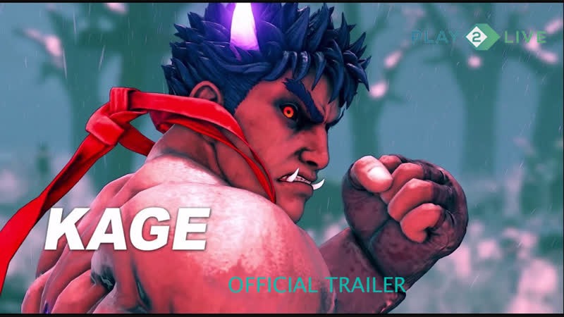 Street Fighter V - Arcade Edition - Kage Reveal Trailer
