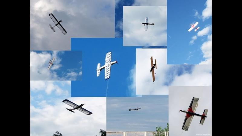 Солигорск. Кордовые пилотажные модели F2-B.