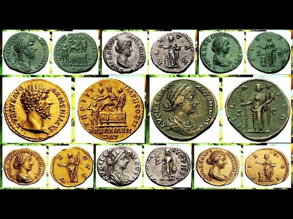 Монеты Римской Империи, Луций Вер,Часть 2, Coins of the Roman Empire, Lucius Ver