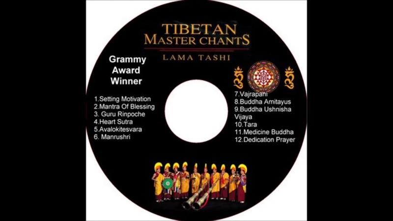Lama Tashi Thần Chú Mật Tông Tây Tạng Tibetan Master Chants