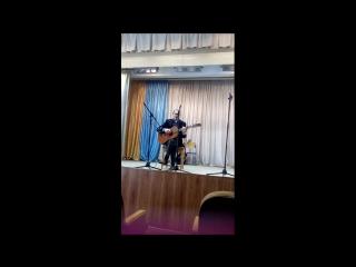 Концерт  23 февраля  в ШФ ИвГУ  с участием В.Тарасова, А. Кузнецова, А.Бровина