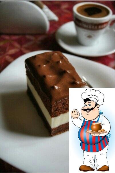 Пирожные киндер милк слайс:) Очень вкусное и нежное пирожное, приготовленное с любовью дома - что может быть вкуснее для наших деток:) Тесто: Яйцо - 4 штуки Сахар - 80 грамм Молоко - 20
