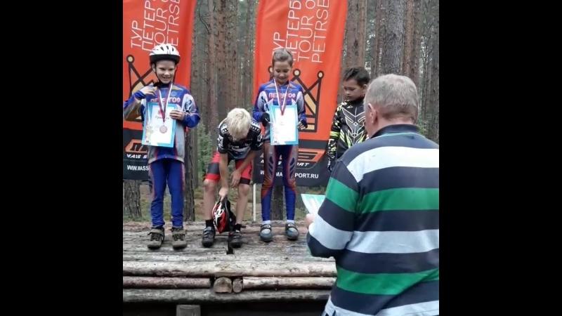 Кубок Санкт Петербурга по велоспорту маунтинбайк 2018г