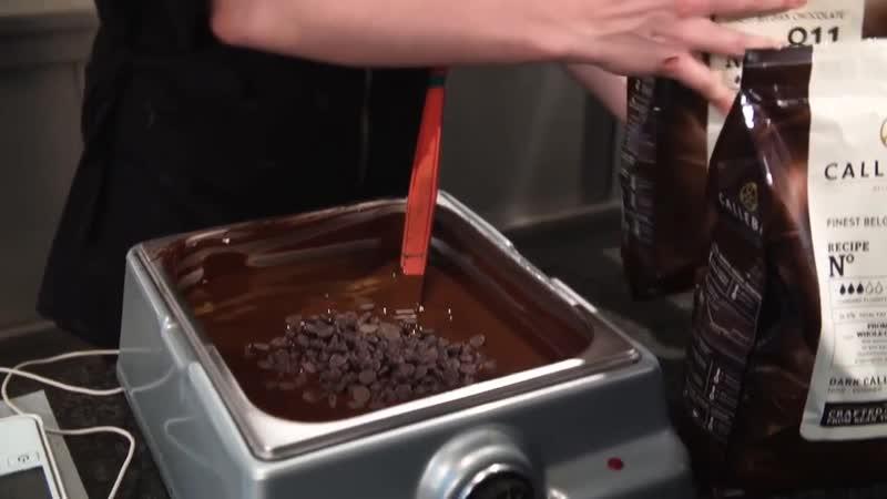 Как Темперировать шоколад методом ПОСЕВА с помощью каллет