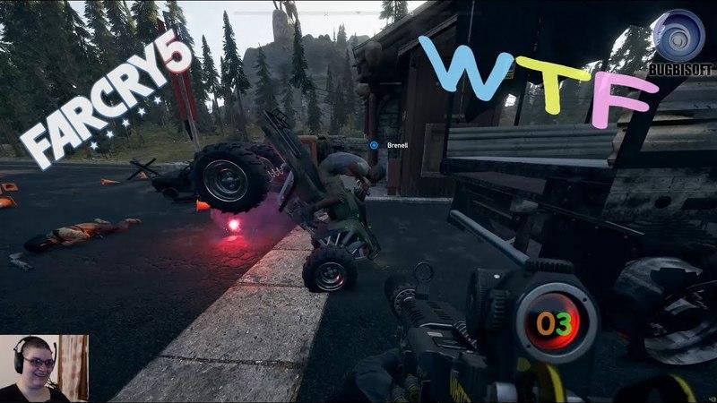 Far Cry 5 - Ce jeu ne plante jamais - WTF 3 - 1080p60 - PC Fr
