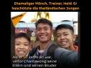 Ehemaliger Mönch Trainer Held Er beschützte die thailändischen Jungen