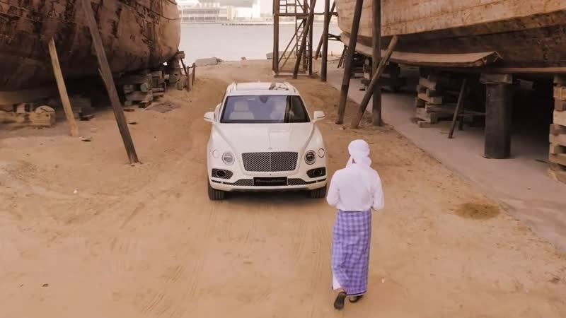 Спецверсия Bentley Bentayga - Pearl of the Gulf от Mulliner