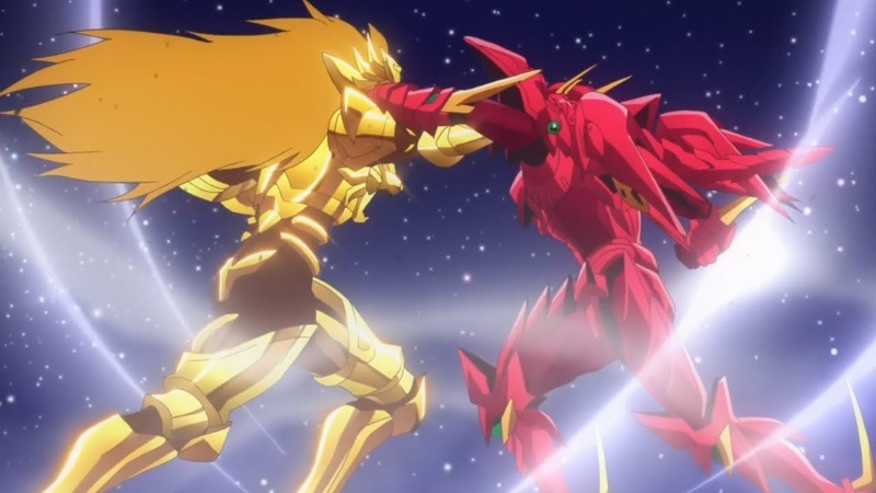 Issei Vs Sairaorg Crimson Dragon Vs Golden Lion Full Fight HighSchool DxD Hero Season 4 AMV смотреть онлайн без регистрации