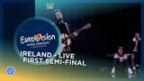 Ryan OShaughnessy - Together - Ireland - LIVE - First Semi-Final - Eurovision 2018
