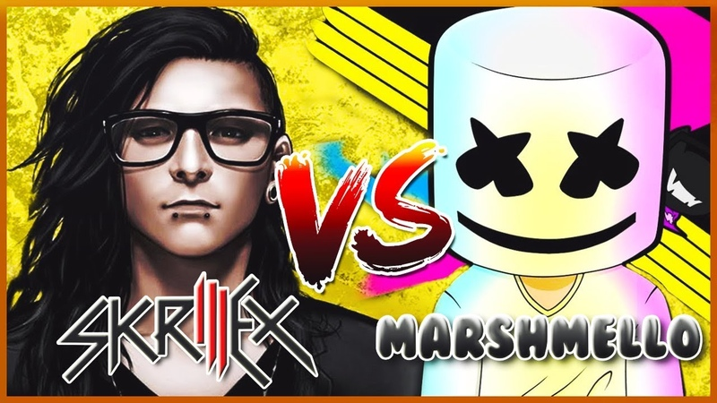 Skrillex VS Marshmello (Only Official Music Video) Best Drops Songs Free Download Links