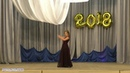 Фрагмент выпускного вечера сольный танец Фламенко