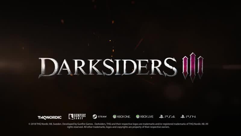 Darksiders III Релизный трейлер
