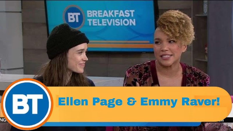Ellen Page Emmy Raver Lampman are here Stars of the Umbrella Academy