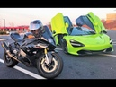 Tuned McLaren 720S vs BMW 1000RR This Car is STUPID FAST...