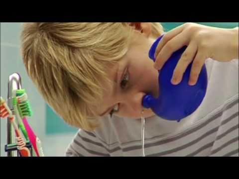 Промывание носа морской водой АкваМарис