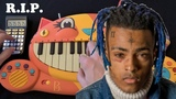 XXXTENTACION'S TOP 5 SONGS ON A CAT PIANO AND DRUM CALCULATOR (R.I.P.)