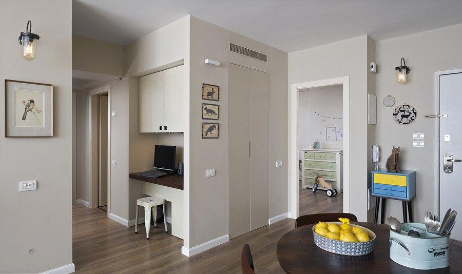 Интерьер квартиры для семьи с ребенком