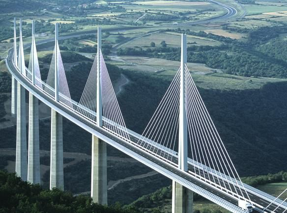 Millau Bridge in France