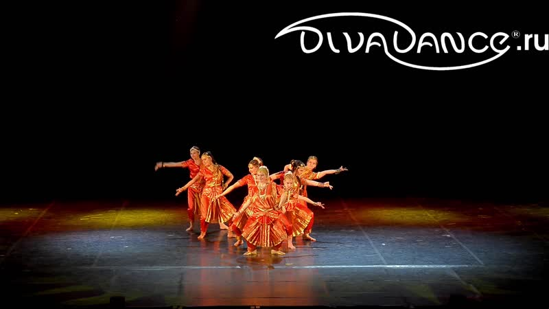 Бхаваями Рагхурам классический индийский танец бхаратанатьям школа танца Divadance
