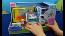 Peppa Pig in English. Toy mobile medical center Peppa Pig. New toys Peppa Pig hospital