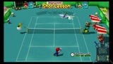 Mario Power Tennis New Play Control (GcWii) Game Review!