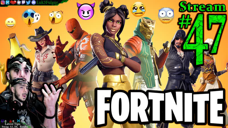 Fortnite ft. Everyone Join MePCMax47th Stream