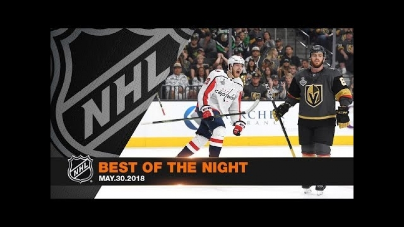 Holtby's unreal late save, Ovi's first Cup Final goal spotlight Game 2 of SCF
