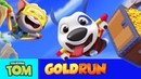 🔥 Wingsuit Flying in Talking Tom Gold Run (Official Gameplay)