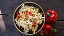 Маринованная капуста за сутки рецепт Вкусный и быстрый салат на каждый день