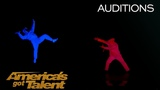 UDI Dance Illumination Dance Group Takes On Good Vs Evil Battle - America's Got Talent 2018
