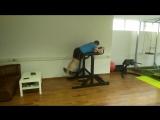 Укрепление мышц спины и пресса перед