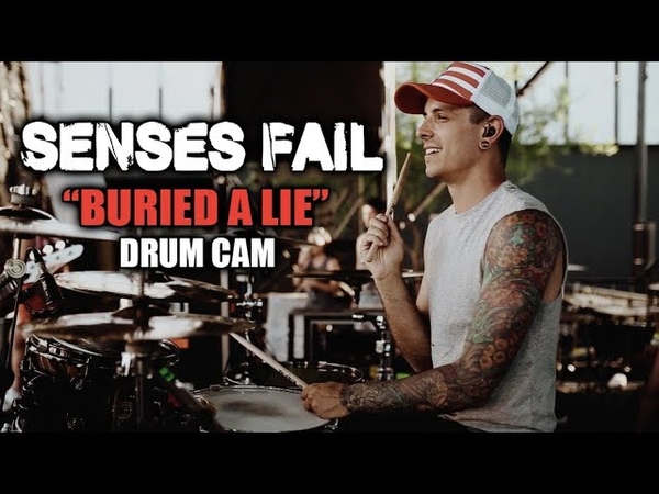 Senses Fail | Buried A Lie | Drum Cam (LIVE)