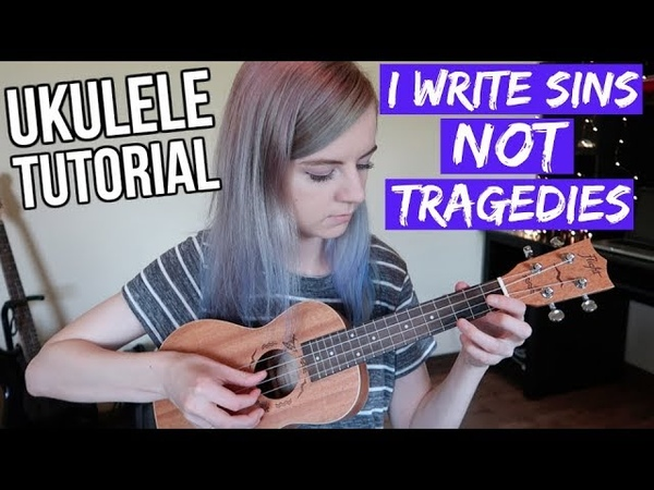 I Write Sins Not Tragedies - Panic! At The Disco | EASY UKULELE TUTORIAL