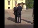 Встреча Владимира Путина и Эммануэля Макрона