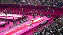 Olympic gold (Sandra Izbasa) silver (Catalina Ponor) bronze (Romania) gymnastics london2012